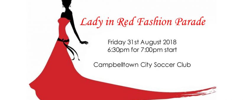 Lady in Red Fashion Parade